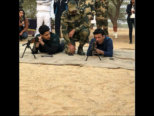 Sidharth Had A Great Time At The BSF Camp