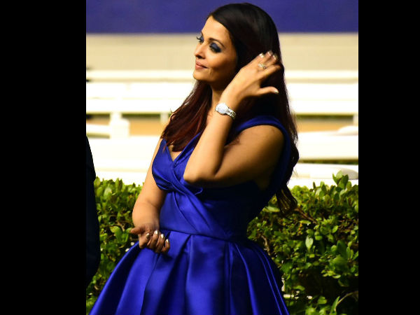 Does Aishwarya Believe In Being 'Fashionably Late'?