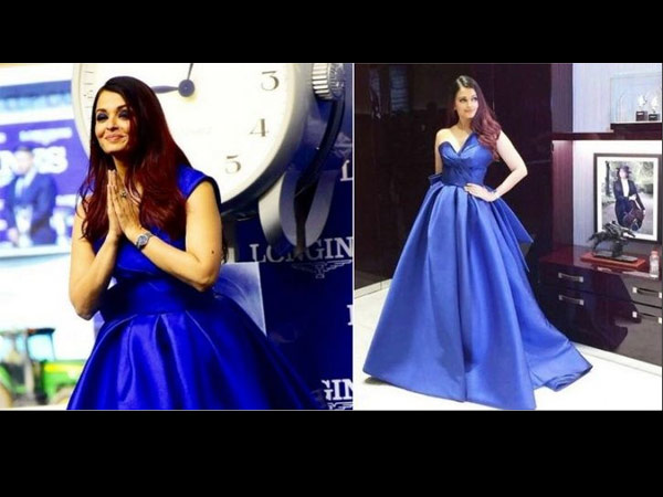 Aishwarya Gave Everyone A Flying Kiss