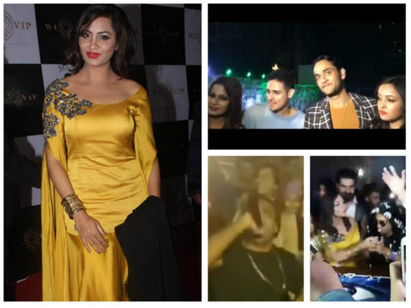 Bigg Boss 11: Vikas, Priyank, Akash & Others Enjoy At Arshi's Grand Bash Sans Hina & Shilpa! (PICS)