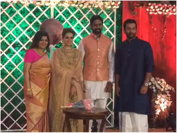 Bhavana Naveen Wedding Photos Bhavana Marriage Photos Filmibeat