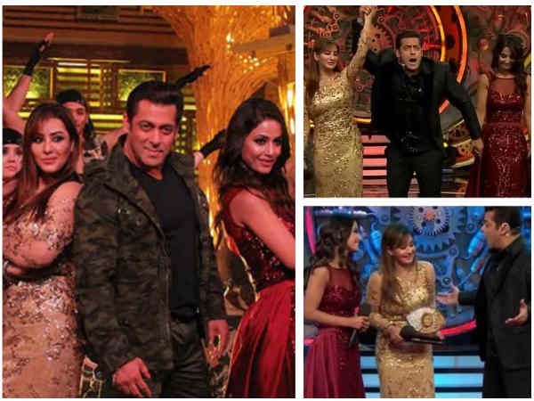 Bigg Boss 11 Finale: Salman Welcomes Everyone In Style; Puneesh & Vikas Get Eliminated; Shilpa WINS!