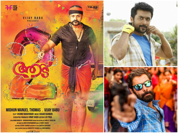 Box Office Chart: Aadu 2 Is Unassailable; Thaana Serndha Koottam & Sketch Mark A Big Entry!