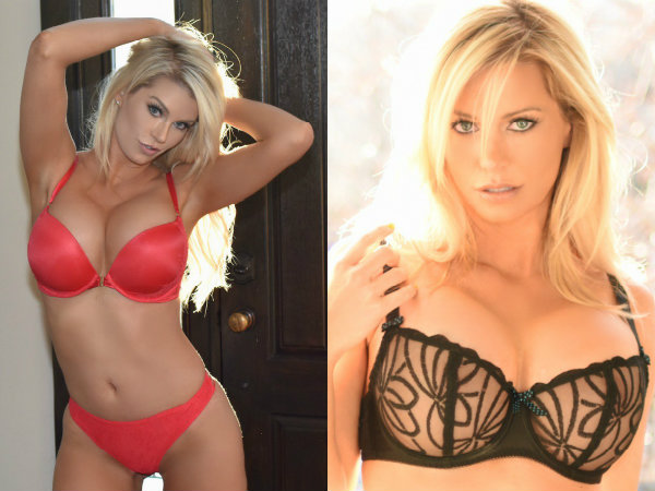 Lingerie Goddess Elle Johnson Will End Up Being Your Everyday Crush! Watch Out