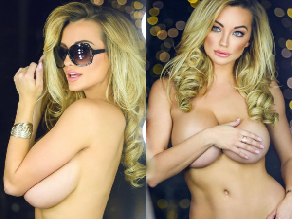 Bra Buster Lindsey Pelas Is Way Too Hot To Handle!