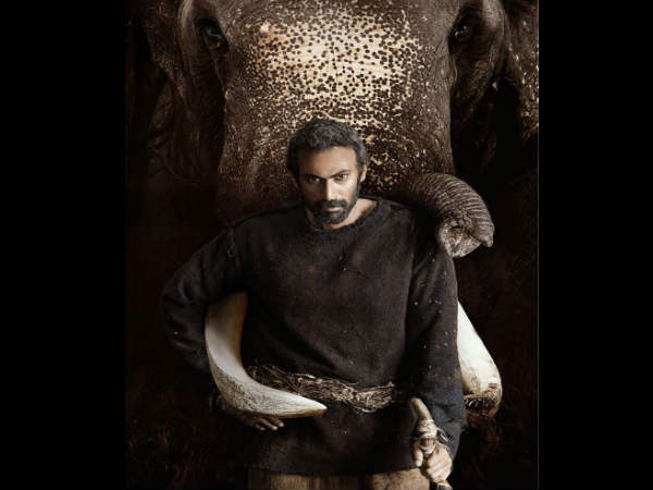 Rana Daggubati looks intense in the first look of Haathi Mere Saathi