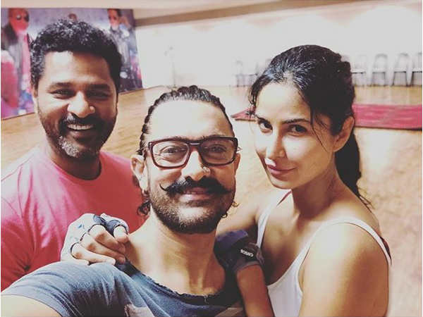 Aamir Khan & Katrina Kaif Are Sweating It Out For Thugs Of Hindostan; Here's The Proof