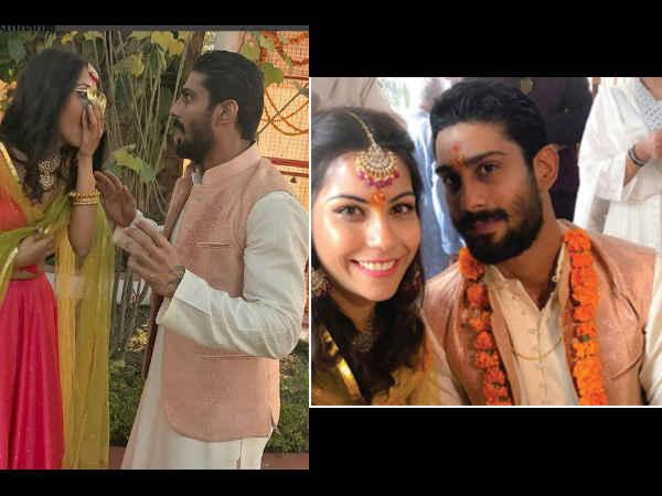 CONGRATULATIONS! Prateik Babbar Gets Engaged To Long-Time Girlfriend Sanya Sagar; Check Out PICS
