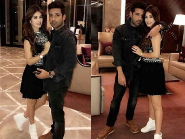 Bigg Boss 11's Lovebirds Bandgi Kalra & Puneesh Sharma Party In Delhi; Reveal Valentine's Day Plan!