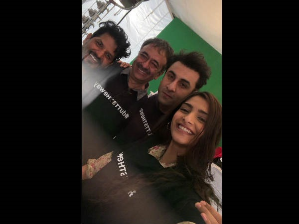 Sonam Kapoor calls Dutt biopic as a 'crazy journey'