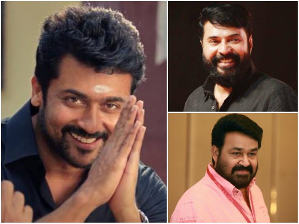 INTERESTING! When Suriya Mouthed Mammootty & Mohanlal Dialogues!