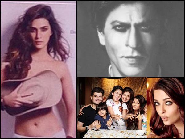 Daboo Ratnani 2018 Calendar! Shahrukh Khan, Aishwarya Rai Look ULTRA GLAMOROUS; Kriti Goes TOPLESS