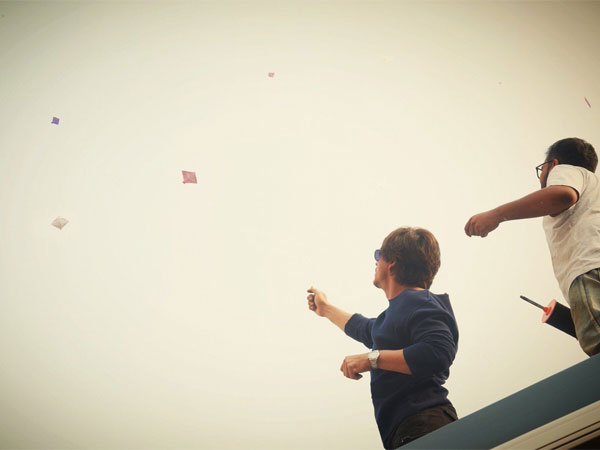 Shahrukh Khan Celebrates Makar Sankranti On The Sets Of Zero! View Pic