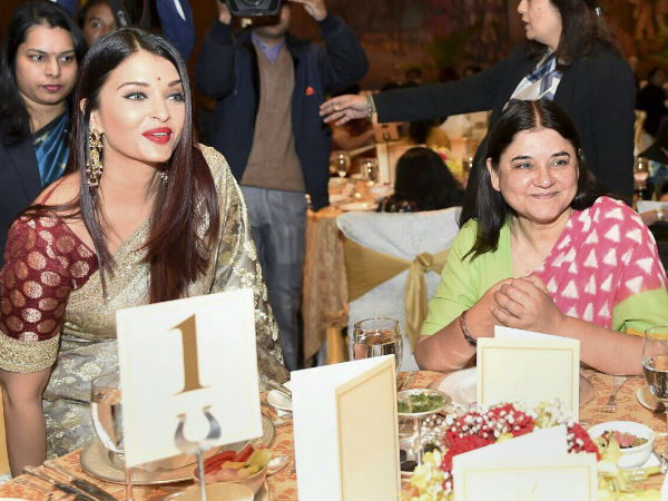 Aishwarya With Maneka