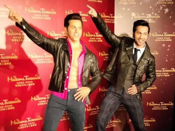 Varun Dhawan honored with a wax statue at Madame Tussauds Hong Kong