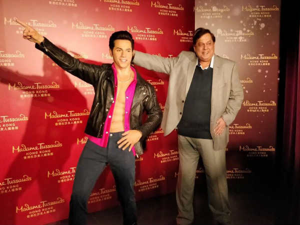 Varun Dhawan second to Sr. Bachchan at Madame Tussauds, Hong Kong