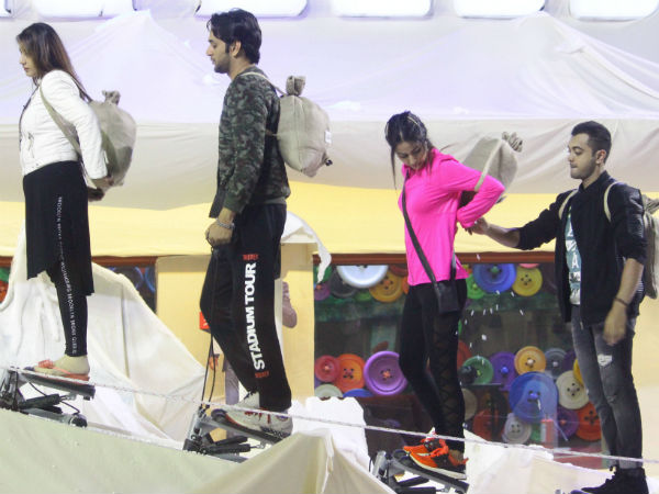 Vikas Brainwashes Other Contestants