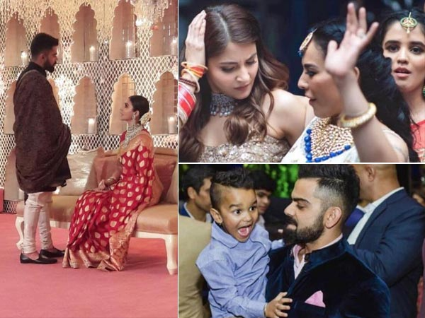 These NEW PICTURES Are UNMISSABLE! Inside The EXTRAVAGANT WEDDING Of Anushka Sharma & Virat Kohli