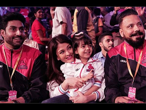 Abhishek's Sweet Words For Supermom Aishwarya