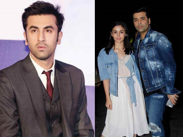SHOCKING! Ranbir Kapoor ANGRY With Karan Johar & Alia Bhatt For Portraying Him As A Playboy?