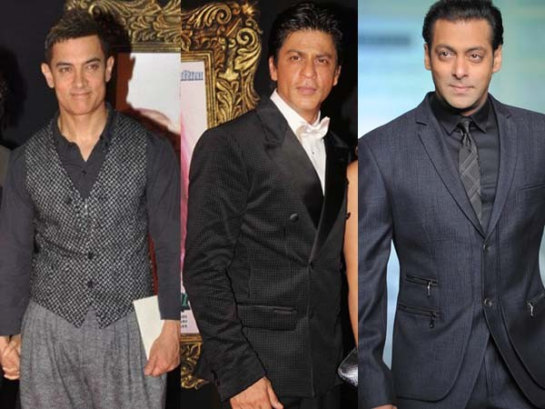 TRUE SUPERSTARS! Bollywood's Three Khans- Shahrukh, Salman & Aamir Are Light Years Ahead Of The Rest