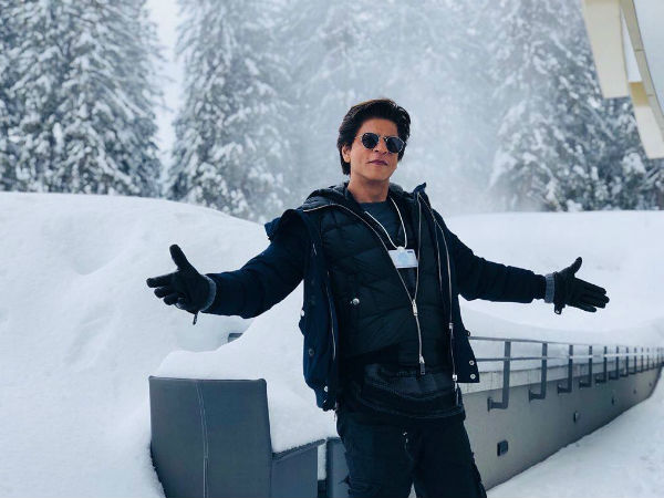 PIC TALK: Shahrukh Khan Is Having A Helluva Time Is Davos; Honoured To Receive Crystal Award