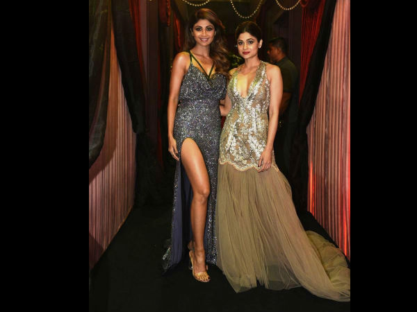 Shetty Sisters Set The Red Carpet On Fire