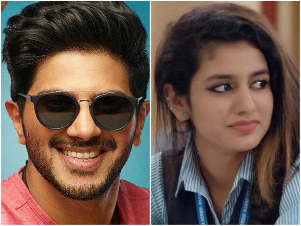 Priya Varrier Dulquer Salmaan Others Who Made This Valentine S Day Special