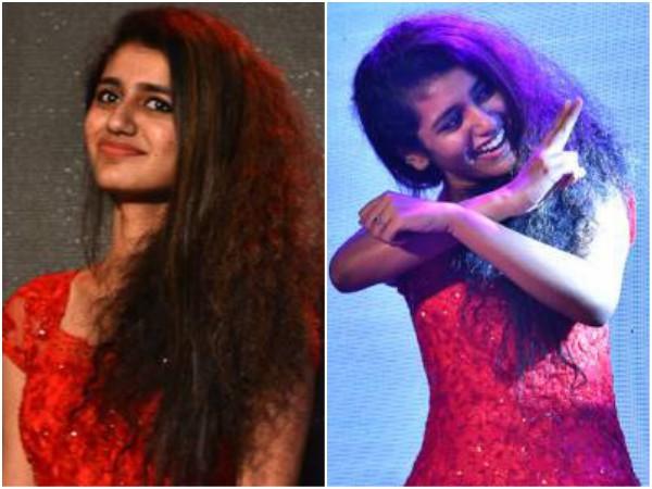 Priya Varrier The Winking Girl Steals The Show At Lulu Flower Festival 2018