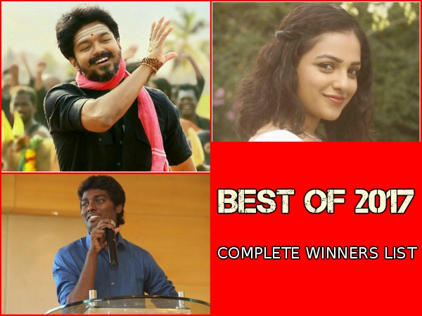 Best Of 2017 Results It S Thalapathy Vijay S Mersal The Way