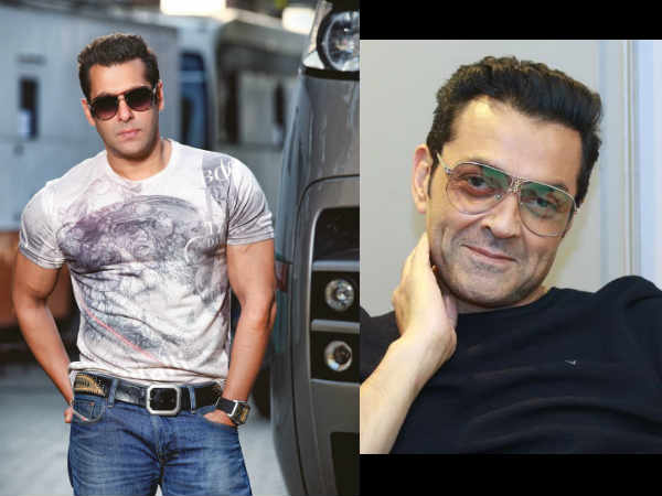 Salman Khan Is Impressed With Bobby's Act In Race 3