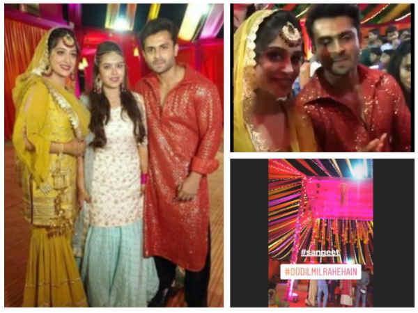 BEAUTIFUL PICS! Dipika Kakar & Shoaib Ibrahim Glow With Happiness: All Set For Sangeet Ceremony
