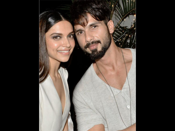Shahid On Working With Deepika For The First Time