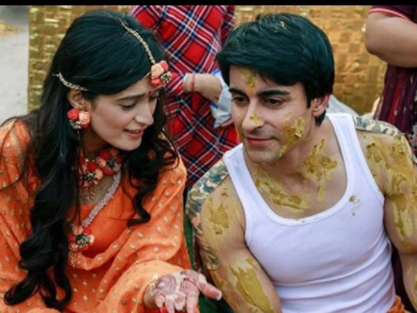 Gautam & Pankhuri At Their Haldi Ceremony