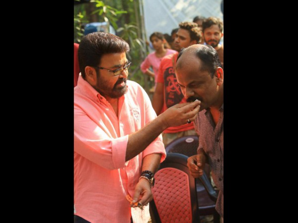 Mohanlal's Look For The Movie