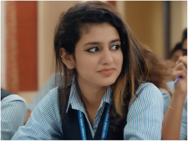 Oru Adaar Love Teaser Crosses The 10 Million Mark Priya Prakash Varrier