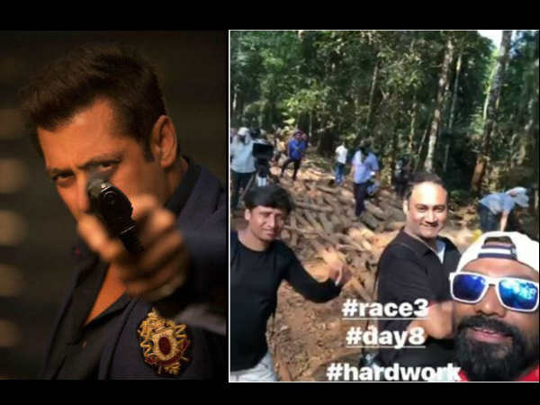 REVEALED! Salman Khan's Race 3 Climax To Feature This Important Scene Shot In Jungles Of Thailand