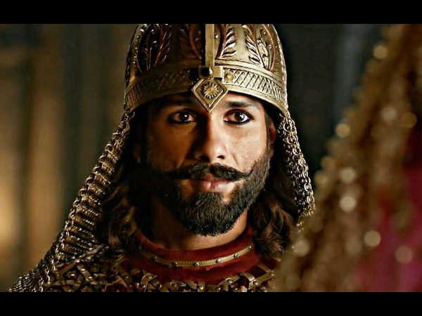 Trouble For Shahid On The Sets Of Padmaavat