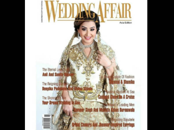 Shilpa On Magazine Cover Page