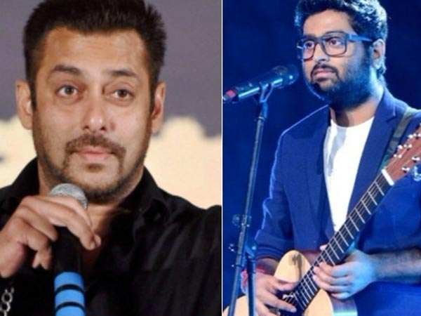 So WRONG To BLAME Him! Salman Khan Is Shocked To See NEWS Of Him Throwing Out Arijit Singh From WTNY