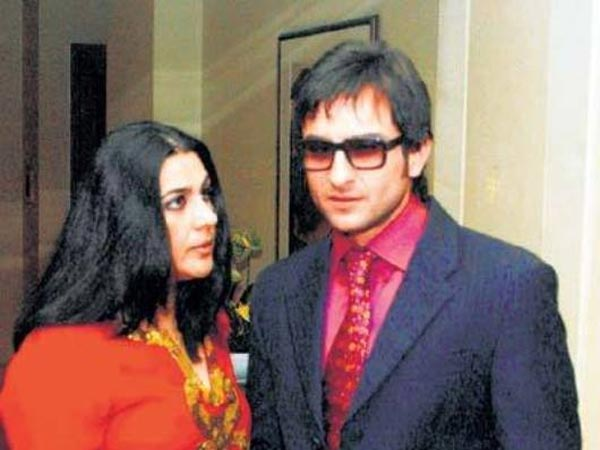 When Amrita Kissed Saif After Their Dinner Date