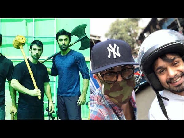 LOOK AT THAT! Ranbir Kapoor's 'Brahmastra' Is A Battle Axe; Why Is He ROAMING On Mumbai Streets?