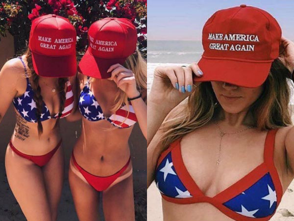 Make Bikinis Great Again! MAGA Girls Are The Happiest & Hottest!