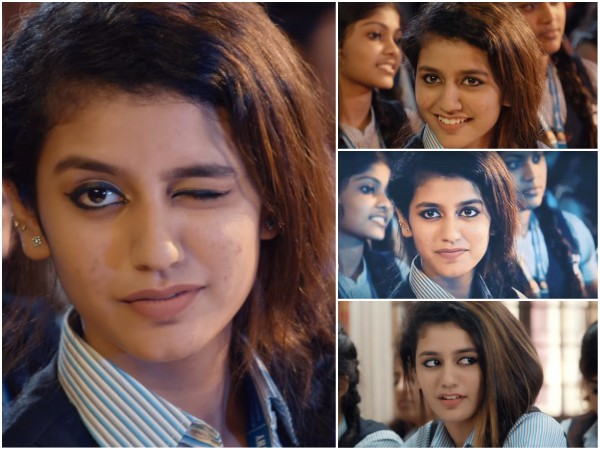 Fresh Controversy Over Priya Prakash Varrier's Wink Scene From Oru Adaar Love!