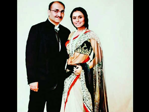 LOL! Rani Mukherji Makes Fun Of Her Husband Aditya Chopra At Home & Calls Him A 'Loser'