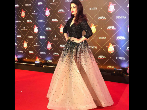 Aishwarya Rai Bachchan looks sublime at Femina Beauty Awards 2018