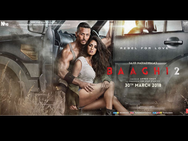 Oo La La! Tiger Shroff And Disha Patani Sizzle In The Latest Poster Of 'Baaghi 2'