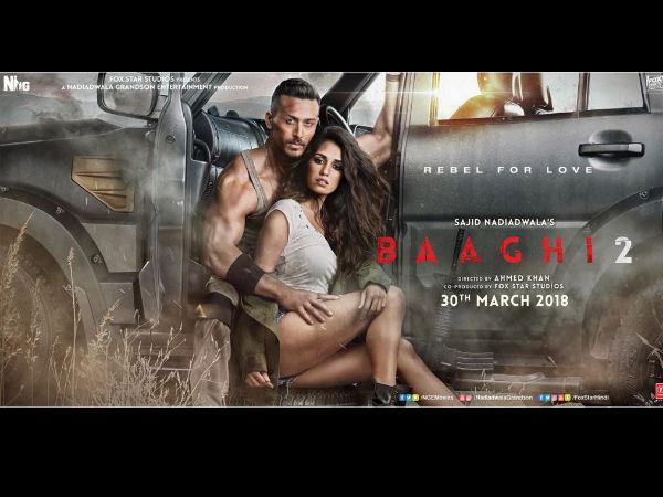 Oo La La! Tiger Shroff And Disha Patani Sizzle In The Latest Poster Of 'Baaghi 2'