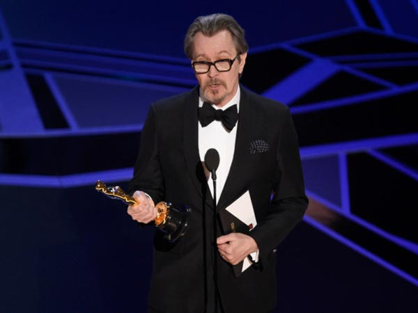 Gary Oldman Darkest Hour Oscar Awards 2018
