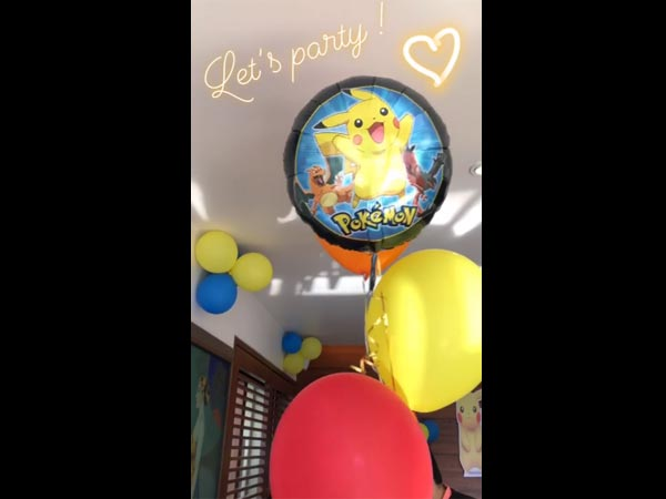 A Pokemon Themed Birthday Party